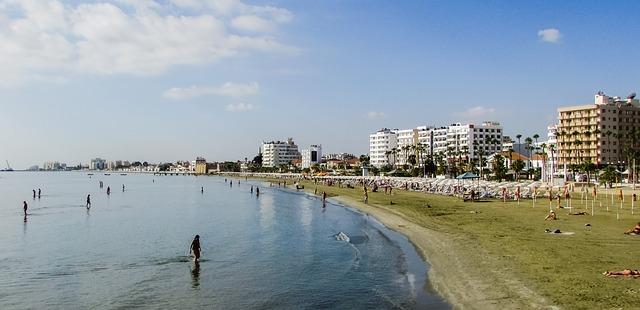 Larnaca strandjai