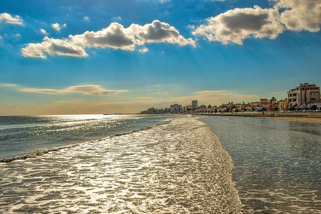 Larnaka strandjai