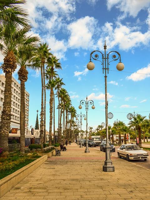 Larnaca sétálóutcája